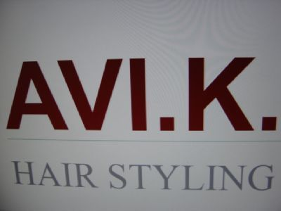 לוגו AVI.K. HAIR STYLING
